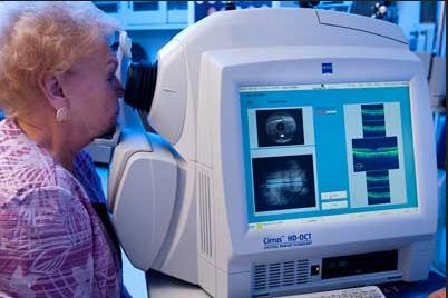 OCT machine wadhurst opticians